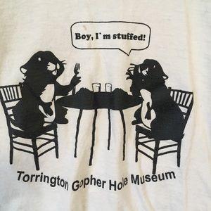 gopher museum tshirt